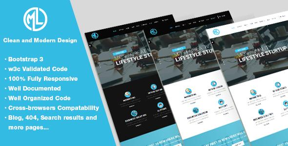 MLBUILD - Corporate and Business Template