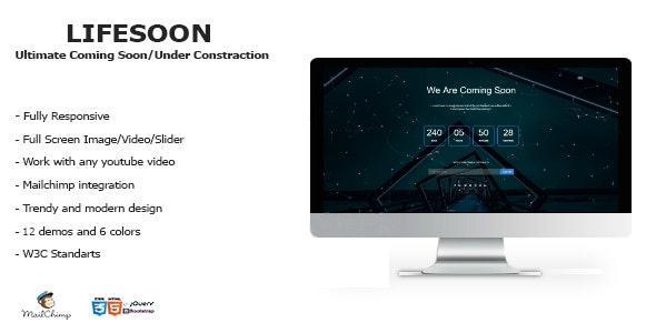 LIFESOON - Multi-Purpose Under Construction/Coming Soon