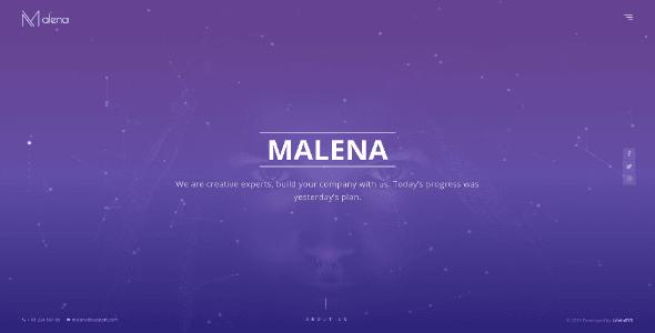 Malena - Creative Portfolio Template