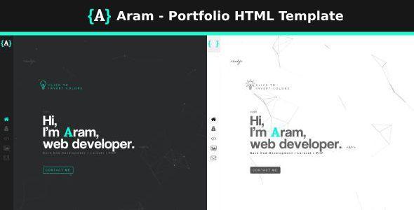 Aram - Portfolio HTML Template