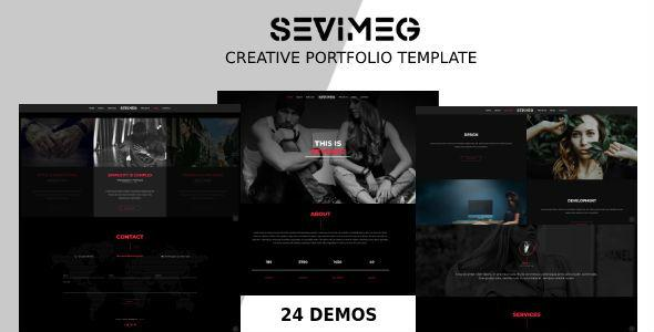 Sevimeg - Creative Photography Portfolio Template