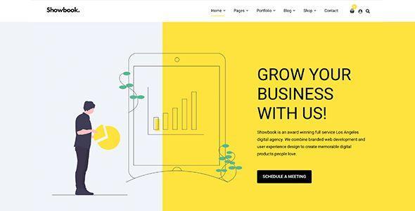 Showbook - Portfolio WordPress Theme