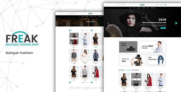 Freak – Boutique eCommerce Template