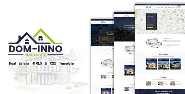 Dominno – Real Estate Responsive Template