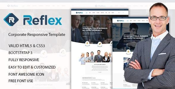 Reflex – Responsive Corporate Template - Business