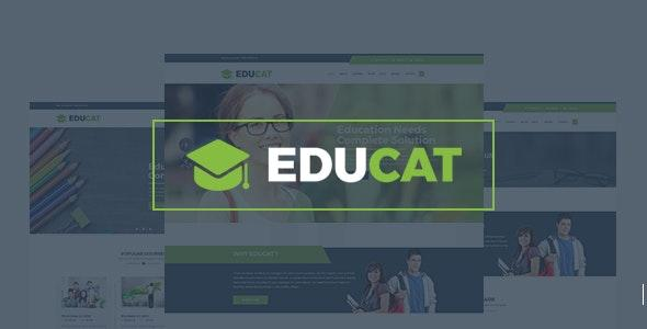 Educat – Education Bootstrap Template - Nonprofit