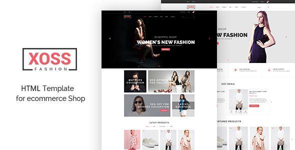 Xoss – eCommerce Fashion Template - Fashion