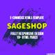 Sageshop HTML5 Template