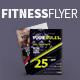 Fitness Flyer PSD Template